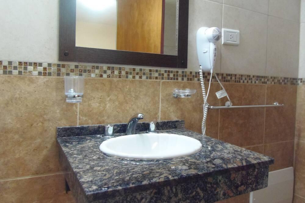 Lavabo en el baño