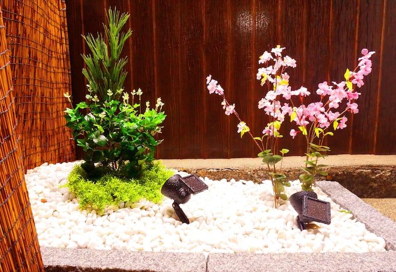 七條旅館, Kyoto, 基本獨棟房屋, 非吸煙房, 花園景觀, 陽台