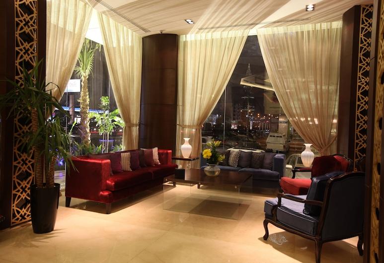 Almuhaidb Faisaliah Hotel Suites, Riyadh, Lobby Sitting Area
