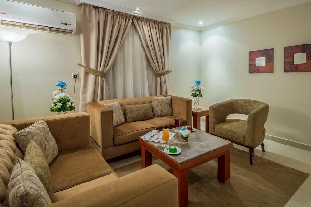 Suite estudio, 1 habitación - Sala de estar