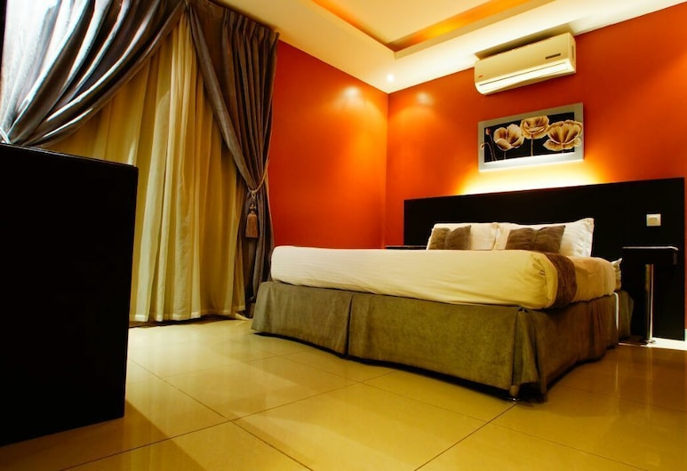 Sama Al Qasr Hotel Apartment elmohamadia, Riyadh, Dubbelrum, Gästrum