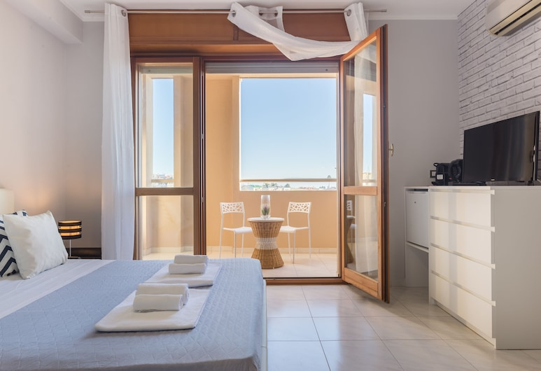 Residenze Su Planu, Cagliari, Kamar Double Deluks, akses difabel, kamar mandi pribadi, Kamar Tamu