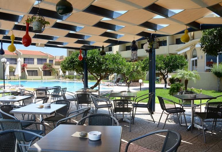 Hotel Summerland, Rodosz, Kültéri étkezés