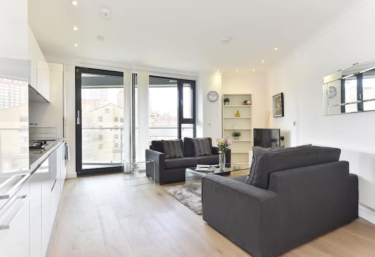 Shoreditch City Living, London, Apartment, 1 Bedroom, Living Area