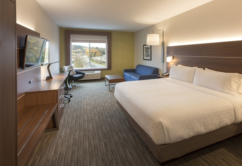 Holiday Inn Express & Suites Seattle South - Tukwila, Tukwila, Suite, 1 King Bed, Non Smoking, Guest Room