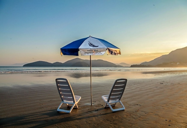 Hotel Costa Azul, Ubatuba, Strand