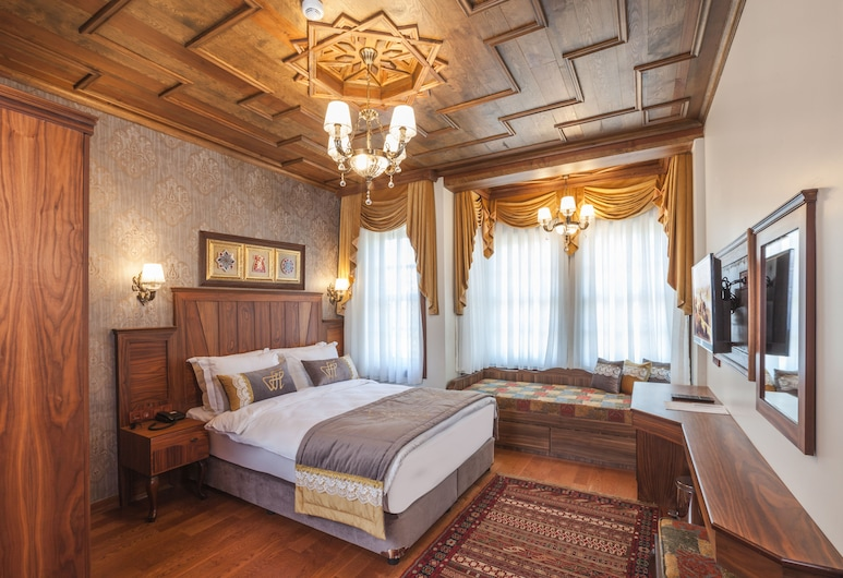 Ferman Konak Hotel, Istanbul, Deluxe Quadruple Room, City View, Guest Room