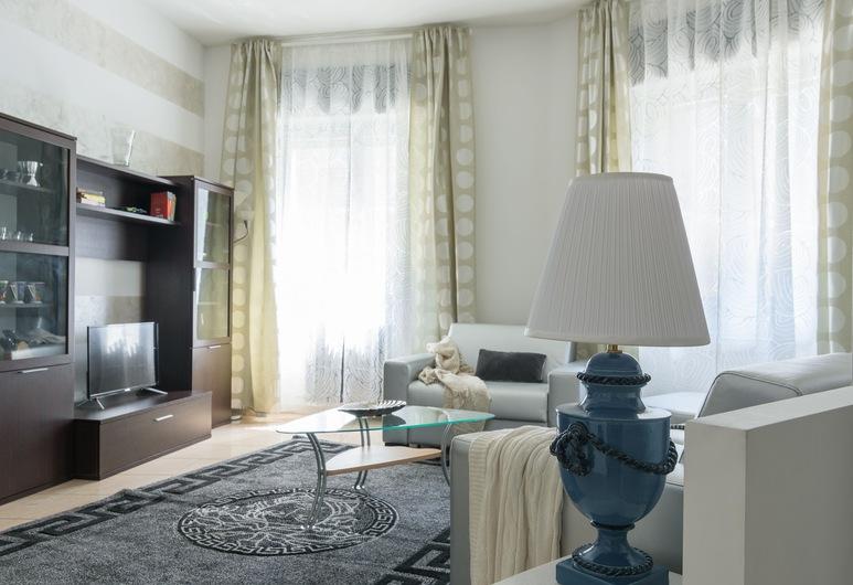 Altido Cozy Loreto Flat, Μιλάνο, Διαμέρισμα, 2 Υπνοδωμάτια, Θέα στην Πόλη, Καθιστικό