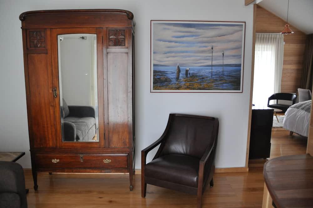 Suite superior, 1 habitación, sauna - Sala de estar