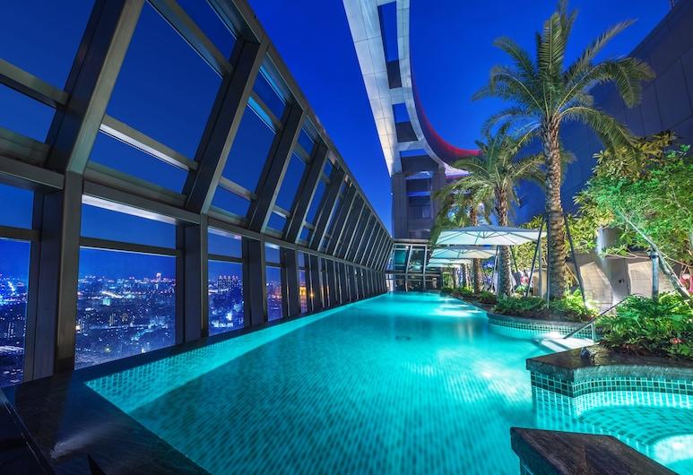 Caesar Park Hotel Banqiao, Neu-Taipeh, Infinity-Pool