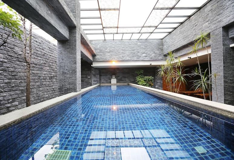 Ohya Boutique Motel-Taoyuan, Taoyuan City, Закрытый бассейн
