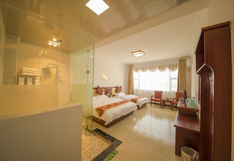 LV QI Hotel, Lijiang, Chambre Familiale, Chambre