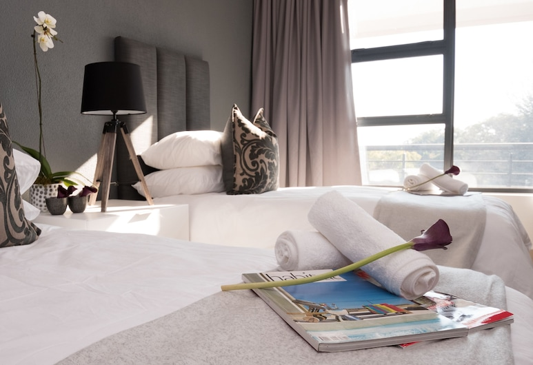 Odyssey Luxury Apartments, Sandton, Standard Room, 2 Twin Beds, Room
