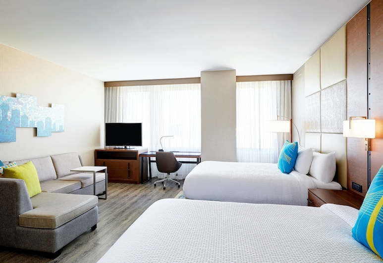 Residence Inn by Marriott Dallas Downtown, Dallas, Studio, 2 grands lits, non-fumeurs, Chambre