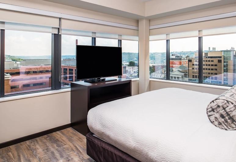 Residence Inn Pittsburgh Oakland/University Place, Питсбург, Люкс, 2 спальни, для некурящих, Номер