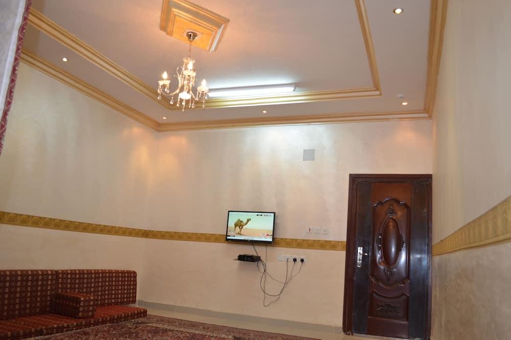 Doppel- oder Zweibettzimmer - Wohnzimmer