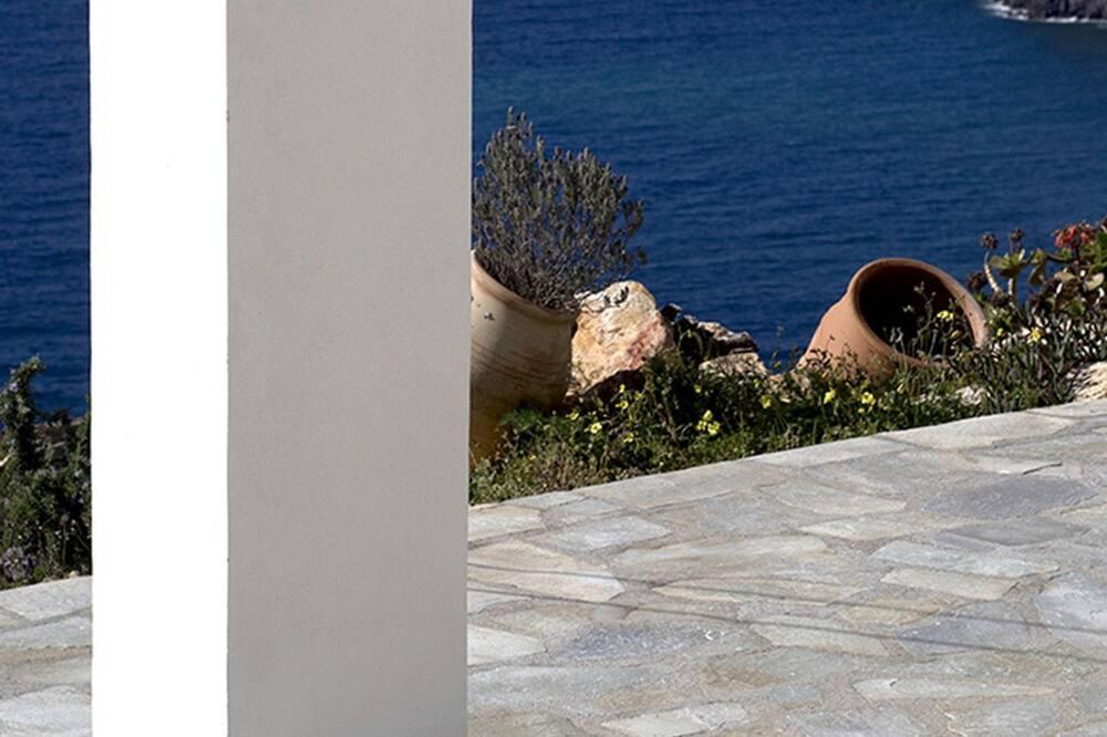 Villa, četras guļamistabas, skats uz jūru - Terase/iekšējais pagalms