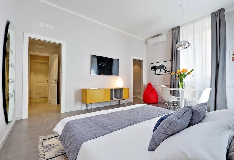 Propaganda Suites, Rom, Deluxe Apartment, 1 Bedroom, City View, Bilik