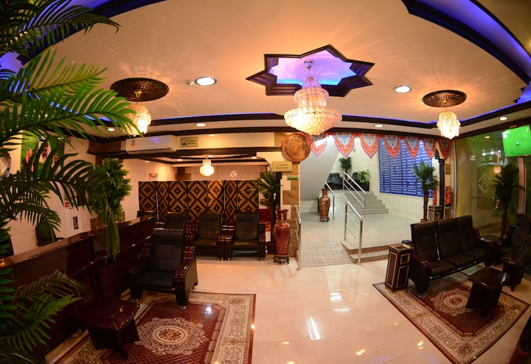 Al Eairy Furnished Apartments Dammam 7, Νταμάμ, Καθιστικό στο λόμπι