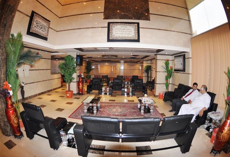 Al Eairy Furnished Apartments Makkah 6, Mecka, Sittområde i lobbyn