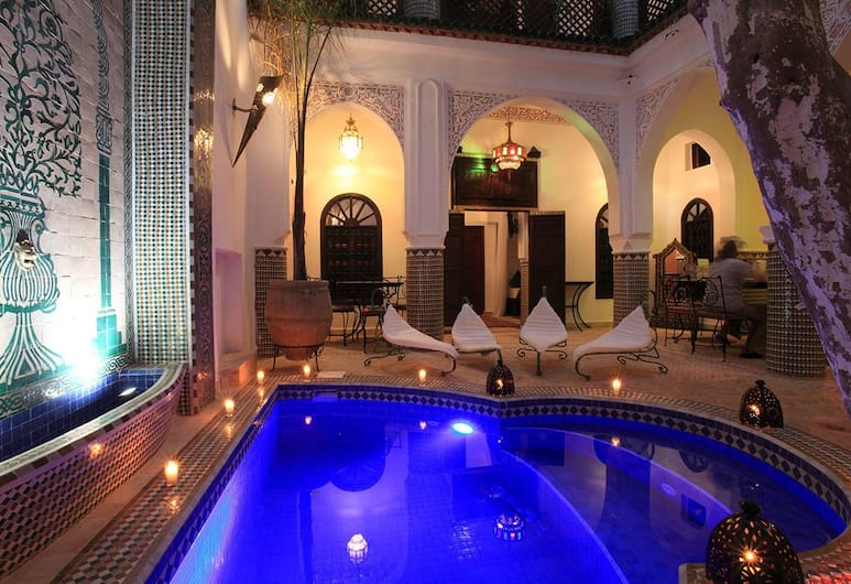 Riad Alma Mouassine, Marrakesh, Piscina all'aperto
