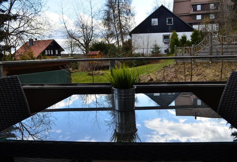 Ferienwohnungen mit Schwimmbad, Braunlage, Appartement, Balkon (incl cleaning Fee 41.65 EUR), Balkon