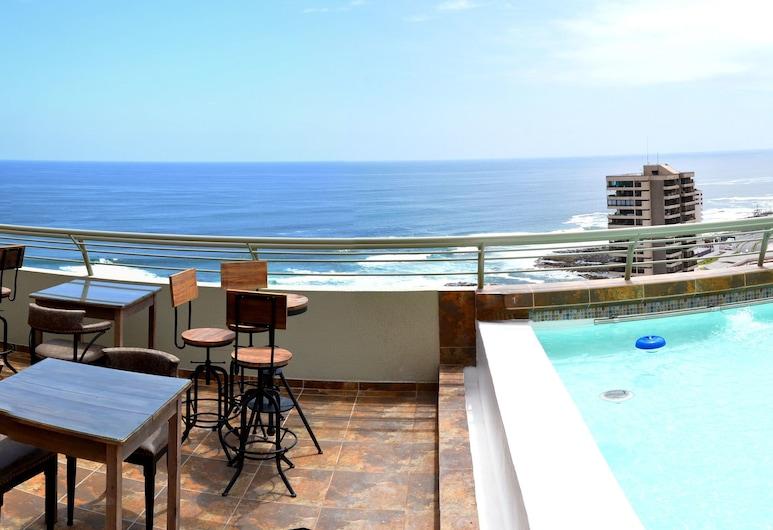 Gran Cavancha Hotel & Apartment, Iquique, Alberca en el piso superior