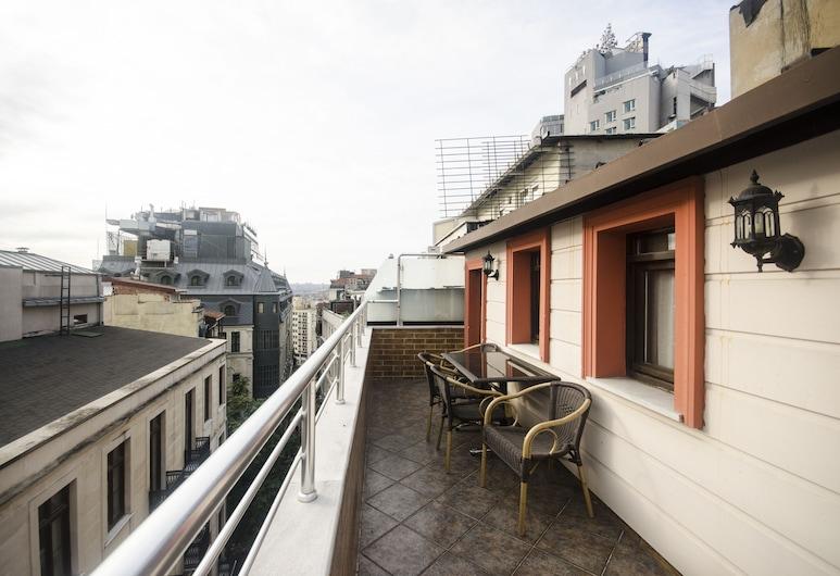 ホテル デブマン, イスタンブール, スーペリア トリプルルーム 1 ベッドルーム, テラス / パティオ
