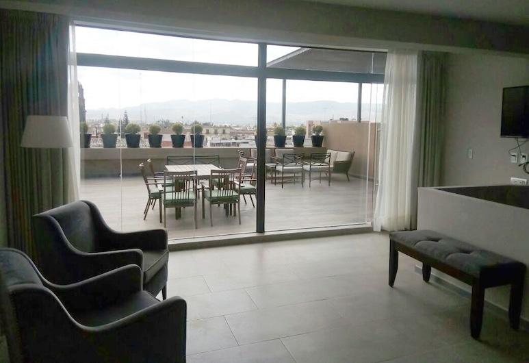Gran Hotel Concordia, San Luis Potosi, Prezidentské apartmá, 1 ložnice, Obývací prostor