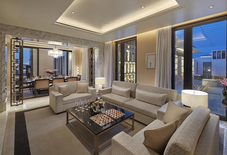 Mandarin Oriental Doha, Doha, Suite, 1 kingsize-seng (Baraha View), Gjesterom