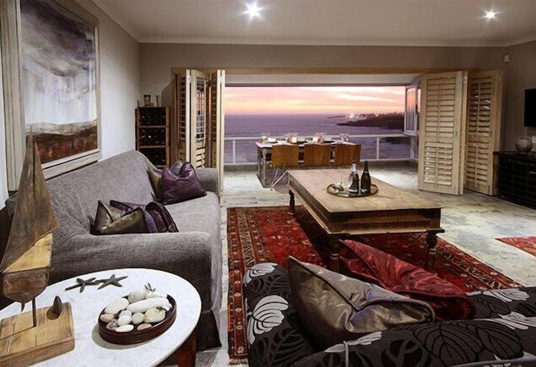 View at 18, Hermanus, Διαμέρισμα, 3 Υπνοδωμάτια, Κουζίνα, Θέα στη Θάλασσα, Καθιστικό