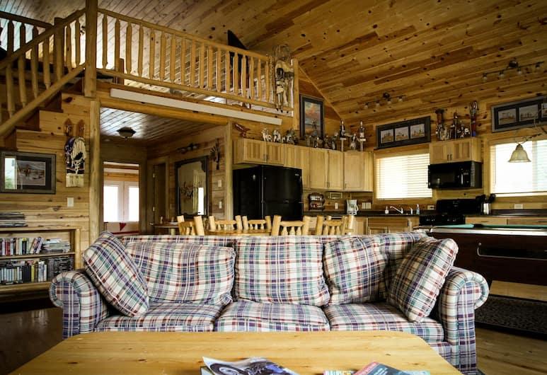 Cole Cabins, Deadwood, Cabin 5, Dnevni boravak