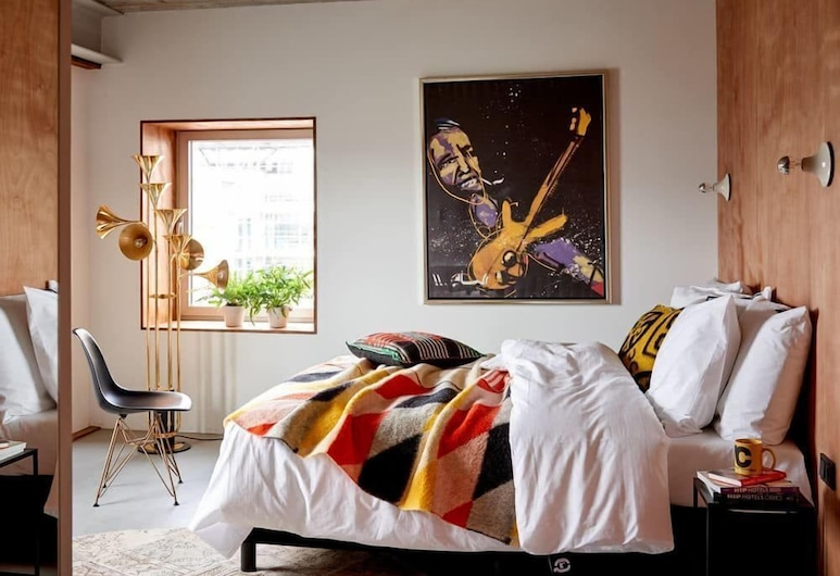 Q-Factory Hotel, Amsterdam, Chambre Double Deluxe, Chambre
