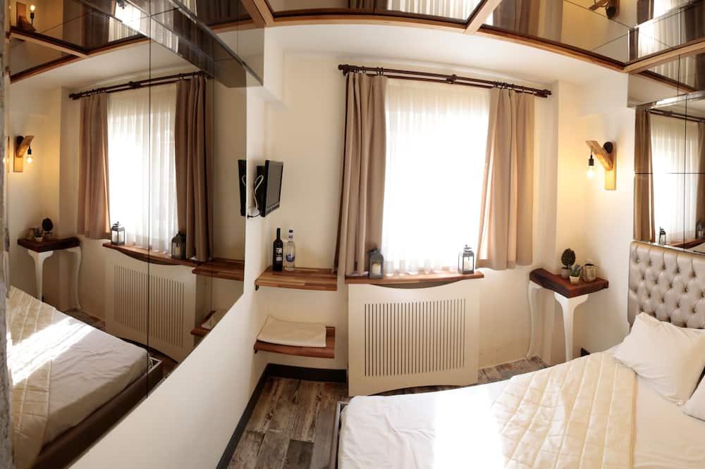 Exclusive Δίκλινο Δωμάτιο (Double), Θέα στην Πόλη - Δωμάτιο επισκεπτών
