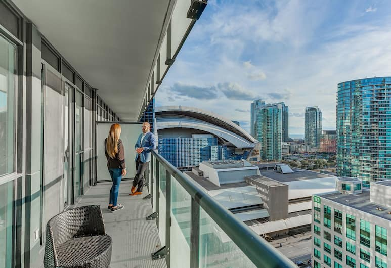 Noel Suites - John and Front St West, Toronto, Suite (Lake View and City View), Terras