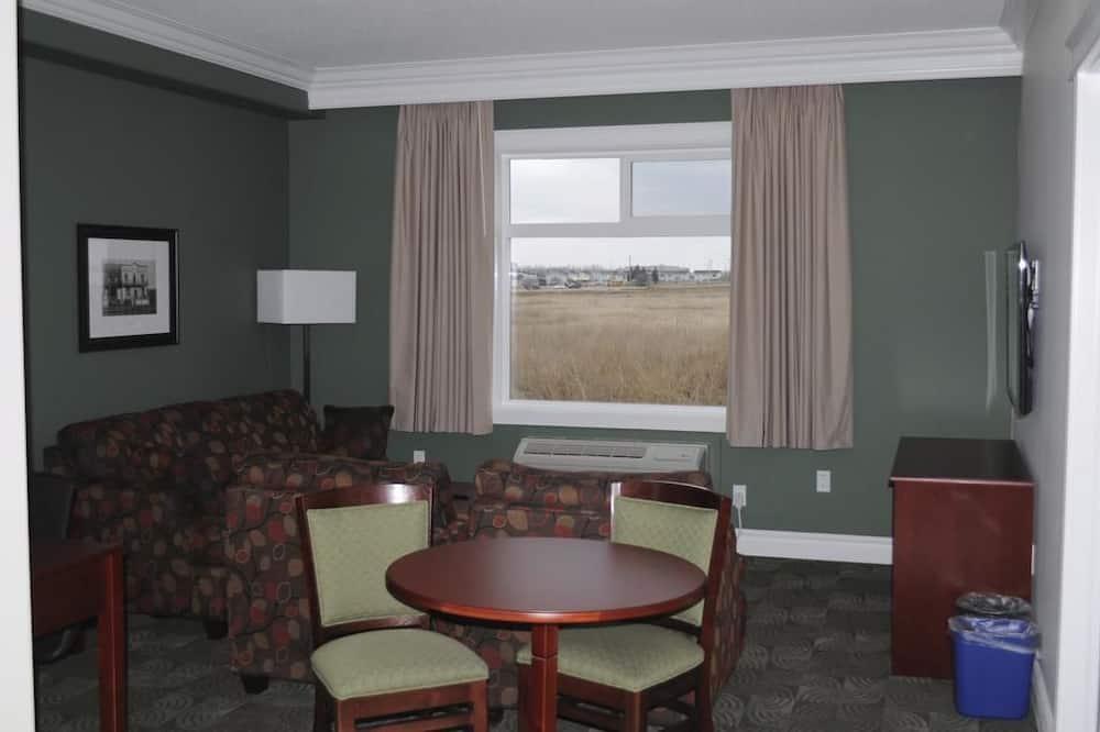 Executive-suite - 1 kingsize-seng - tekøkken - Stue