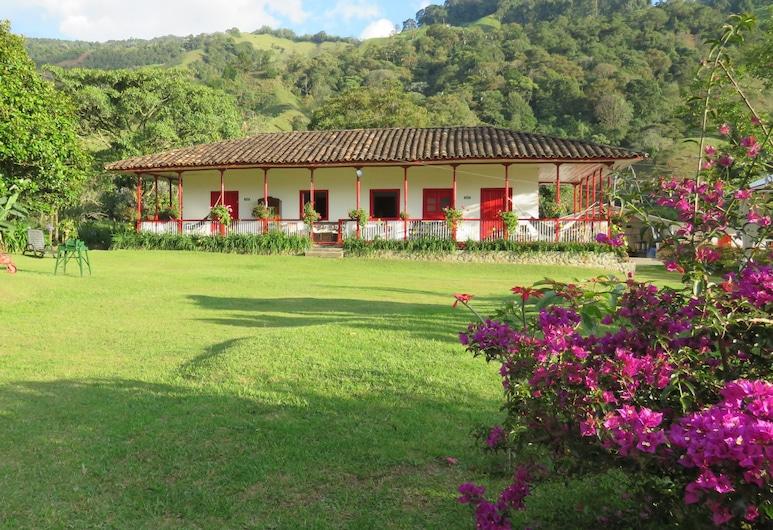 Eco Hotel La Cabaña, Salento, Jardim