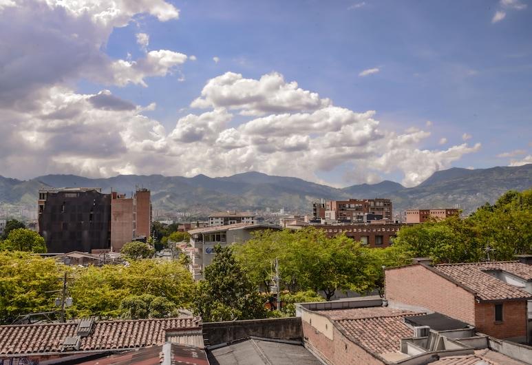 Presidencial Apartments, Medellin, Penthouse Comfort - 3 sovrum - utsikt mot bergen (401), Terrass