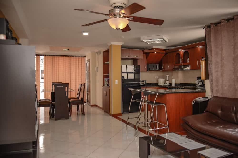 Appartement, 3 slaapkamers (301) - Woonruimte