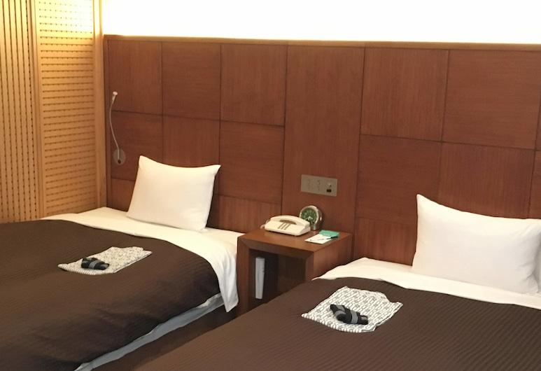 柏プラザホテル, 柏市, デラックス ツインルーム 禁煙, 部屋