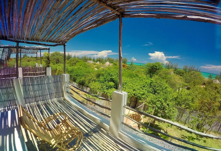 nZuwa Lodge, Pemba, Zimmer, Terrasse, Meerblick (Vista ), Terrasse/Patio