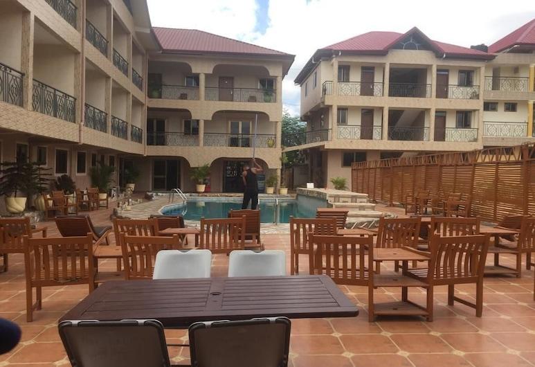 盧拉爾夫酒店, Accra, 陽台