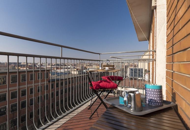 Italianway Apartments - Bergognone, Milano, Appartamento City, 1 camera da letto, balcone, Balcone