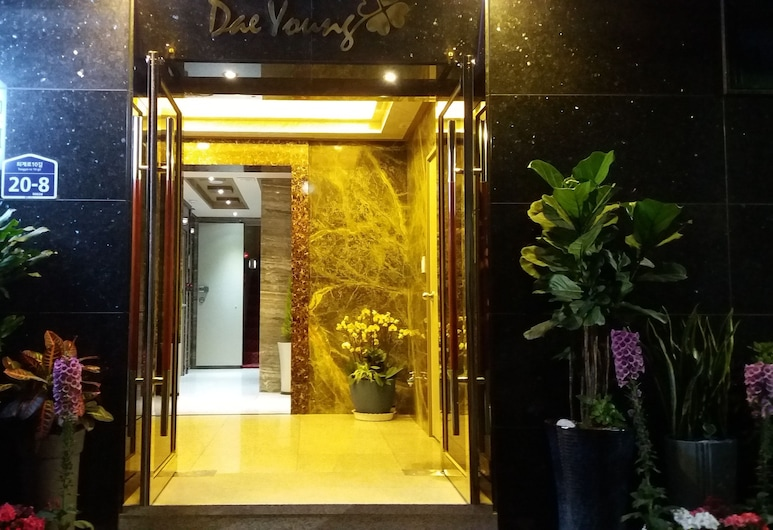 Daeyoung Hotel Seoul, Seoul, Hotel Front – Evening/Night
