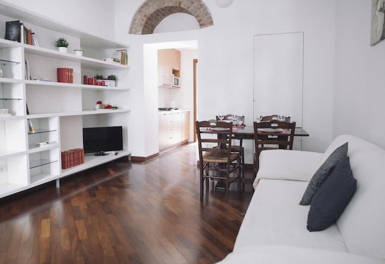 Italianway   - Giulio Romano, Milaan, Appartement, 1 slaapkamer, Woonkamer