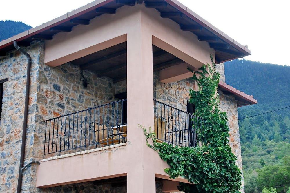 Apartament typu Suite, kominek, widok na góry - Balkon