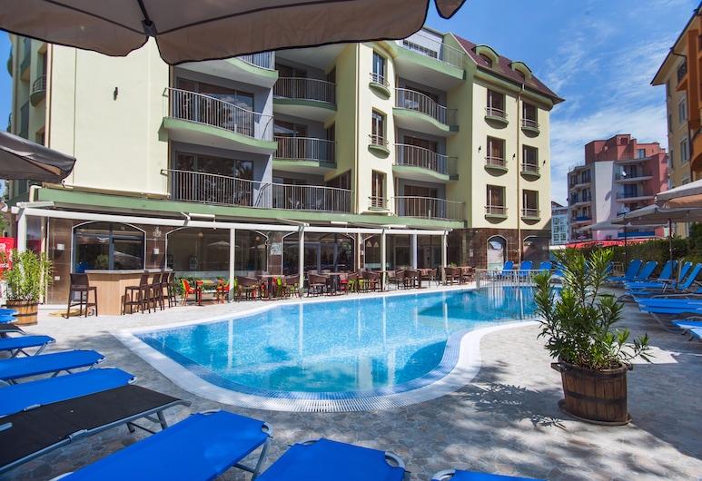 Mariner's Suites, Sunny Beach, Baras prie baseino