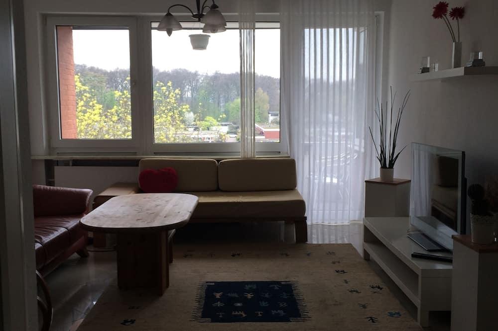 Lejlighed - 2 soveværelser - balkon - Stue