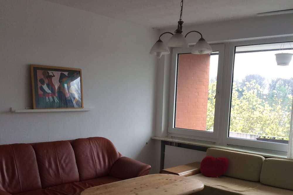 Lejlighed - 2 soveværelser - balkon - Opholdsområde