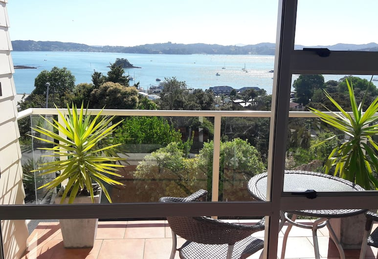 Top of the Bay, Paihia, Bay View Apartment, Balcony